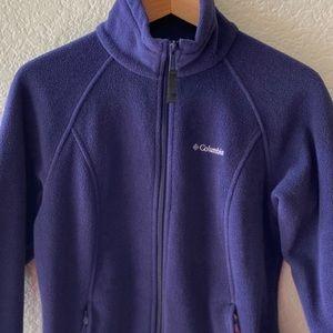 COLUMBIA Benton Springs Fleece Full Zip Purple